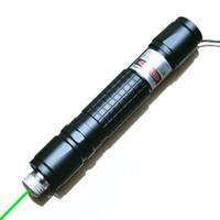 Wholesale 532nm Green Laser Pointer Pen m Visible Beam Match Lighter Office Electronics teaching CE