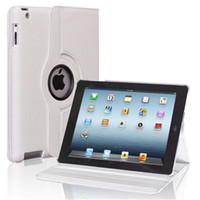 Wholesale 360 Degree Rotating PU Leather Magnetic Case Smart Cover Stand For iPad Air Mini PC JE