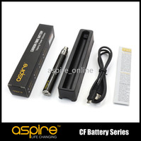 Wholesale Newest Aspire Battery Passthrough mah Battery With Aspire Battery Charger Rechargeable Battery Ego E cigarette Battery Nonadjustable