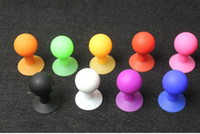 ball holders - universal mini Mount Octopus Holder silicone Rubber Suction Ball Desktop Stand for apple iphone s touch samsung galaxy s3 s4 nokia