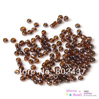 Cheap 8 0 Glass Seed Beads Jewelry Making Earthy Yellow About 3x2mm,450 grams(approx 16070PCs Bag) (B33132)