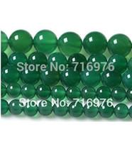 6 8 10 12 12 mm Redondo Liso verde Ágata Onyx de 15,5 pulgadas/filamento de la Recogida O Envío Gratis-F00058