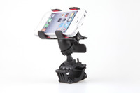 bicycle mount holder - New Degree Rotating Bicycle Bike Phone Holder Handlebar Clip Stand Mount for iPhone for Samsung Cellphone GPS MP4 MP5 PA1567