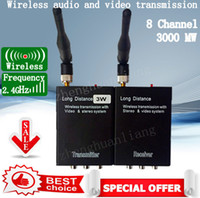 Wholesale 2 g W High Power Wireless Transmitter and receiver Audio Video pc
