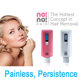Wholesale no no hair Professional Hair Removal Device for Face and Body uses Thermicon technology which uses heat to remove hair DHL EMS Free