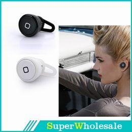 Wholesale 2014 sem fio bluetooth menor mini fone de ouvido auricular fone de ouvido para iphone samsung frete grátis