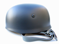 Wholesale Collectibles WW2 German M38 Field Helmet Replica years warranty gray blue color