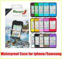 Wholesale Waterproof Case Redpepper Red Pepper Water Proof Case Cover Shockproof for iphone C S S G G Samsung S3 S4 I9500 iphone S