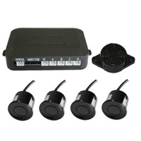 Wholesale simple parking sensor alarm by three step bibi sound Car Reversing Aid four sensors multiple color NO monitor