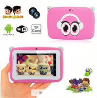 Wholesale Kids tablet PC Children tablet pc for kids inch RK2926 dual core tablet pc for kids Android GB colorful tablet PC LY