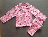 Cheap free ship NEW children girl long sleeved flannel flannelette pajamas top + pant sleepwear sleeping pants