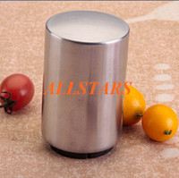 Wholesale Brand New Automatic Magnetic Stainless Steel Beer and Soda Bottle Opener Easy use kitchenware value tools F