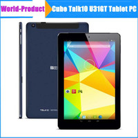 Wholesale 10 inch Cube Talk10 U31gt G Tablet Cube talk Android Tablet MTK8382 Quad Core x800 Screen Dual Cameras