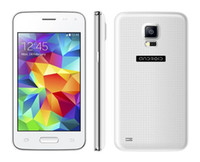 Cheap Mini S5 I9600 G9600 Android 4.4 Phones SC7715 4.0inch 3G 1.2Ghz WIFI Dual SIM Flip Cover