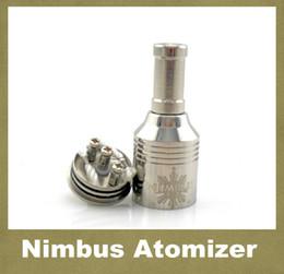 E Cigarette RBA Atomizer Trident Nimbus Gold Vaporizer Kayfun Nimbus Atomizer Matched With Chiyou Bagua King E-cig Mod ATB011