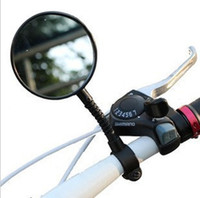 Wholesale Outdoor Sports Bicycle Bike Handlebar Glass Rear View Mirror Reflective Safety Convex Rearview Mirror Cycling Accessory