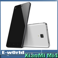 Wholesale 2014 Original Xiaomi M4 M4 LTE G Mobile Phone G RAM G ROM Snapdragon S801 Quad Core GHZ Inch IPS P OTG GPS