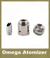 stainless steel aqua control - Omega Mods Atomizer Dual Coil Control Vaporizer Chrome RBA RDA Quasar Aqua Patriot Omega Rebuildable Electronic Cigarette Mods ATB012