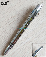 Wholesale PURE PEARL MB SW High Quality Best Design Silver Checkered Pattern and Silver Clip Fountain Pen