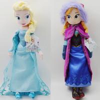 Wholesale 100pcs frozen doll cm inch frozen elsa anna toy doll action figures plush toy frozen dolls Christmas Gift