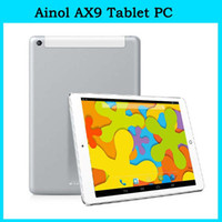 Wholesale 9 inch Ainol AX9 Numy G Tablet PC Android MTK8382 Quad Core tablet pc G GB Build in G GPS Bluetooth x768 MP Camera