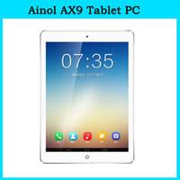 Wholesale Original quot Ainol AX9 Numy G Tablet PC Android MTK8382 Quad Core IPS Screen GB RAM GB ROM MP Camera