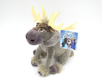Cartoon The Frozen Sven Plush toy frozen toy free shpping