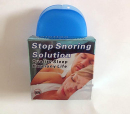 Wholesale Free DHL Snoring Cessation Stop Snoring Mouthpiece Snore Soft Silicon Anti Snore Sleeping Aid Prevent Grinding of Teeth Factory Price