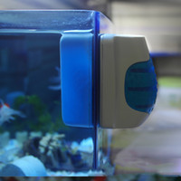 Wholesale Aquariums Accessories Aquarium Fish Tank Magnetic Floating Glass Cleaner Algae Scraper New Brush Clean Scrubber H11342