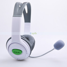 Wholesale Over Ear Headset Headphones with MIC Earphones for MICROSOFT XBOX XBOX360 LIVE
