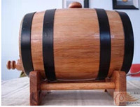 Wholesale 20L wooden Oak Wine Aging wood Barrel Rum Cask Beer Keg best sale