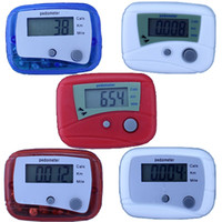 Wholesale Electronic pedometer multifunction pedometer calorie consumption is double treadmill fitness counter