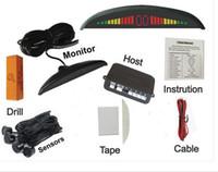 LED parking sensor alarm by three- step bibi sound video moni...