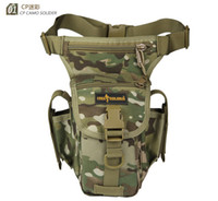 Wholesale op Free soldier outdoor Mobile wallets multi function waist bag Tactical legs movement cycling pockets agent package