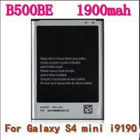 Wholesale HOT S4 battery B500BE for Samsung Galaxy S4 mini i9190 i9192 I9195 mAh V Li ion battery