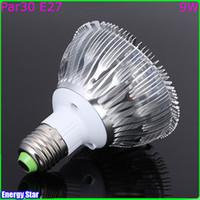 high lumen led - Hot Sale CREE Led W Par Lamp Bulb E27 V LED Lamps Spotlight Lamp Bulbs DHL FEDEX High Lumen