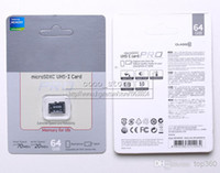 Wholesale DHL EMS GB UHS I Card Pro Class Micro SD card TF Memory Card No adapter Silver Retail Package