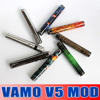 Free Shipping colorful Vamo V5 updated lava tube ecigarette ...