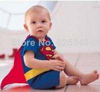 baby uv swimwear - 2014 New Anti UV Cartoon Super Man Baby Boys Swimwear beach children Kids swimwear swimsuit Wear Costumes Boys one pieces