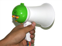 Wholesale Lovely Mini Portable Handheld Amplifier Megaphone Bullhorn Loud speaker DHL free LY