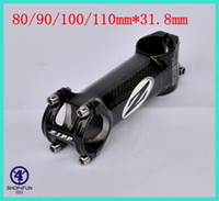 Wholesale 2014 Z ipp carbon Bicycle Stem road mtb bike cycling stem red and black two colors for choice x110mm
