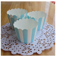 Wholesale 2014 New High Temperature Mini Baking Paper Cupcake Liners Cases Wrappers Muffin Cake Tray