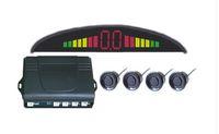 LED parking sensor alarm by english speech video monitor Car...