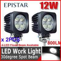 "Cheap 2PCS 2.5"" 12W Epistar LED Driving Work Light Off-Road SUV ATV 4WD 4x4 Spot Flood Beam 9-32V 950lm JEEP Truck Motorcycle Wagon Fog Headlamp"