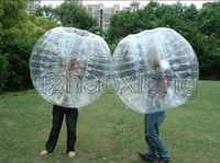 Wholesale With Video Amazing Adult M mm PVC Inflatable Bumper Bubble Football Bumper Ball Bubble Soccer Fun Inflatable Toys SGS Certification