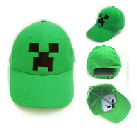 New Fashion Jazwares Minecraft Creeper Baseball Caps Wome Me...