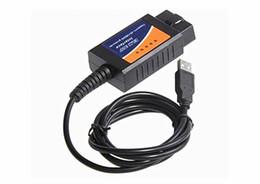 Wholesale 2014 Top selling ELM327 Interface USB OBD2 Auto Scanner V1 OBDII OBD II elm327 usb Super scanner