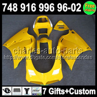 7gifts For DUCATI 748 916 996 998 96- 02 Stock yellow 748S 96...