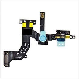 Wholesale For iPhone G Front Face Camera with Proximity Light Sensor Motion Flex Cable Ribbon apple iphone5 Replacement Repair Part good quitaly