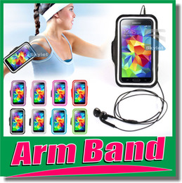 Wholesale For Iphone Waterproof Sports Running Armband Case Workout Armband Holder Pounch For iphone S G C S Cell Mobile Phone Arm Bag Band